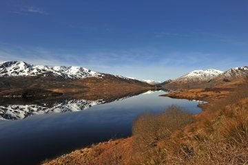 Loch Cluanie reflection, 221 kb