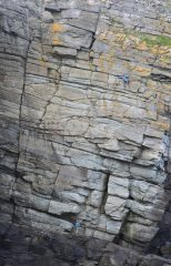 First ascent of Motion Suspended, 183 kb