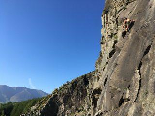 Jim on The Charcoal Burner, Bram Crag