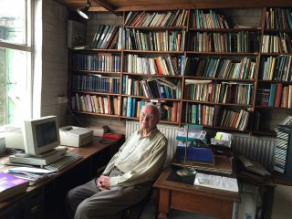 Walt Unsworth in his old office