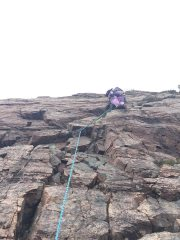 Kirsty leading Cortes