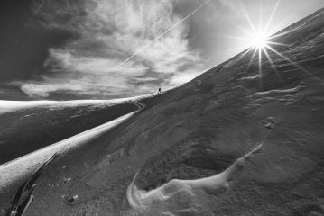 Skinning towards the Col des Fours, 171 kb