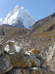 Shivling from basecamp
