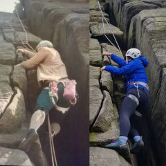 Jen Following in her late fathers footsteps.