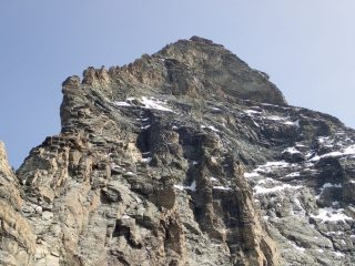 View of Matterhorn summit from Pic Tyndall