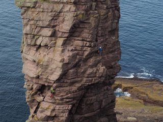 Great day on the Old Man of Stoer