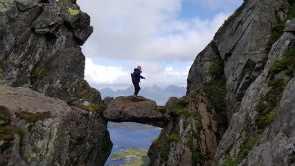 The Devil's Gate on Lofoten