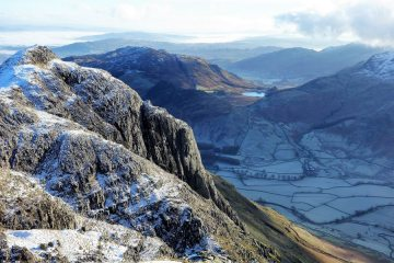 Gimmer Crag from Pike o Stickle
