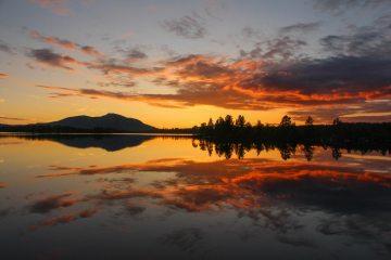 Sunset in Rogen