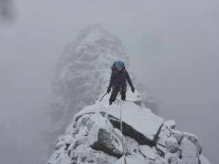 Tower Ridge, Ben Nevis, December 2016