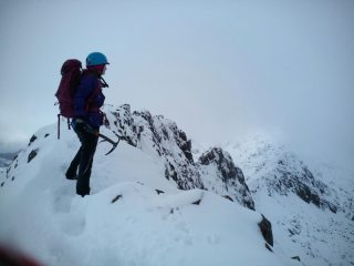 Crib Goch Winter