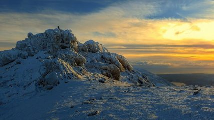Slieve Bearnagh in the Mournes