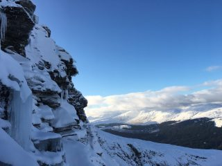 View from Sunshine Gully