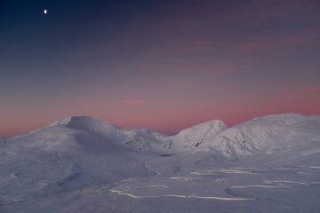 Dawn over the Ben Lawers ridge