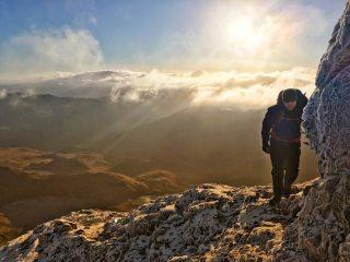 Tackling the ridge