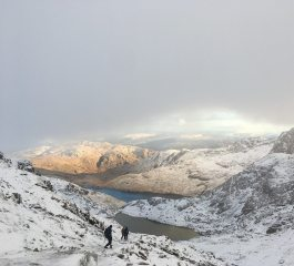 Snowdonia in winter