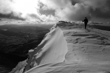 Another Blencathra snow scene.