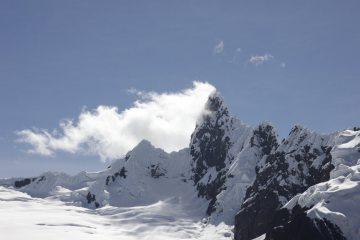 Mount Cayesh, in the Cordillera Blanca of Peru