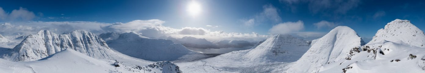 Panorama from the Horns of Alligin