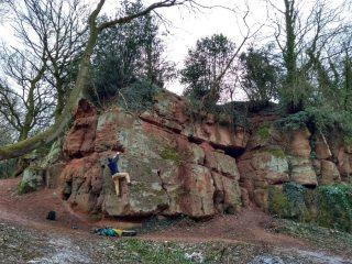 The finest bouldering in Warwickshire (lol)