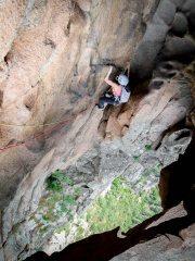through the tafoni cave