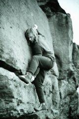 Almscliff Pebble Wall