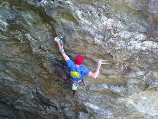 Malcolm Smith on Hunger (9a)