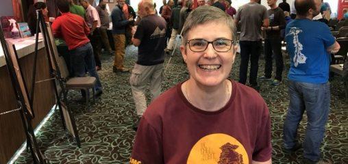 Lynn Robinson - the BMC\'s first female President., 71 kb