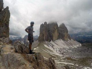 Tre Cime di Lavaredo from Summit of Monte Paterno