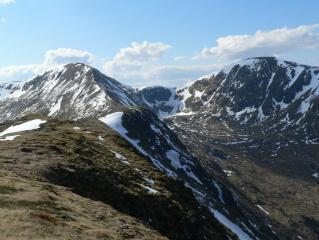 Mam Sodhail and Carn Eighe