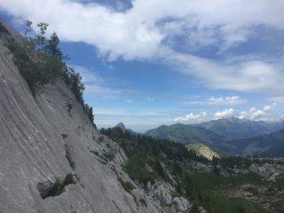amazing climbing in pierre du moelle