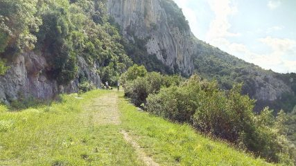 Ramales de la Victoria, east Cantabria, Spain.  Several sectors alongside the tourist path up from the town.
