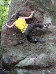 First ascent of Grated Arm