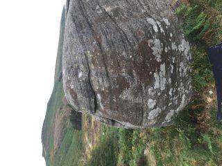 Roadside Nose on the Liver in Burbage Valley Boulders