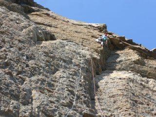 Mick Lovatt on the first ascent of The Mudshark E8 6b