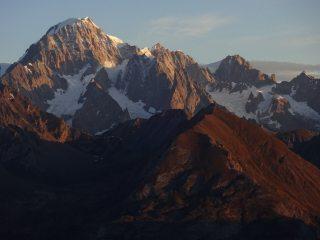 Monte Bianco sunrise