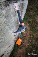 Hakers Gonna Hake (E8 7a) - A New Route at the Smugglers Terrace
