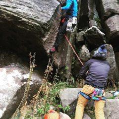 Typical Birchen route, tough start followed by an enjoyable romp