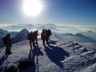 Mt Blanc summit