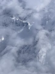 Alps in the clouds