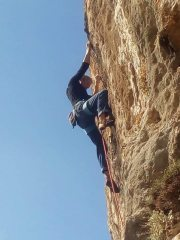 On the crux.