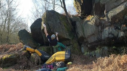 Tuff Customer 6C, a great problem hidden away in the Charnwood undergrowth.