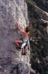 Tony Williams soloing Traversee des Aretes, Rocher St Julien, 145 kb