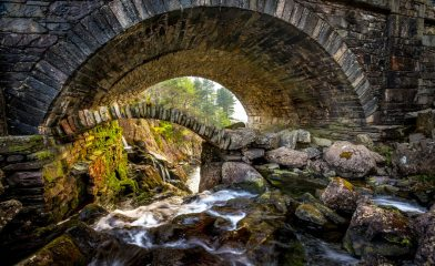 Ogwen Bridge with new lens., 225 kb