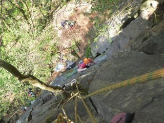 Mate, moving through the crux