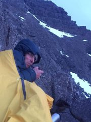 Chilling after long day in the Cuillin
