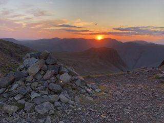 Scafell Sunset