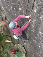 Onsite of my first VS at Tremadog