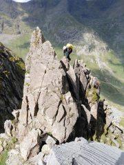 The climax to Pinnacle ridge.