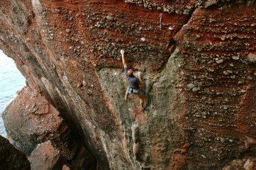 Sport climbing Devon stylee